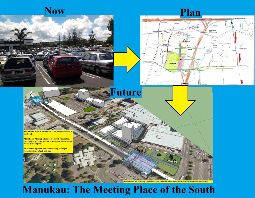 Manukau: Now Plan Future