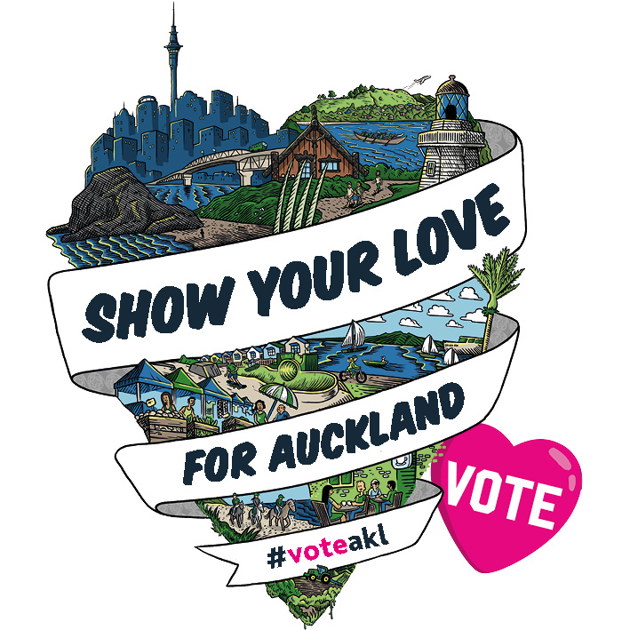 Show your love voter heart Source: Auckland