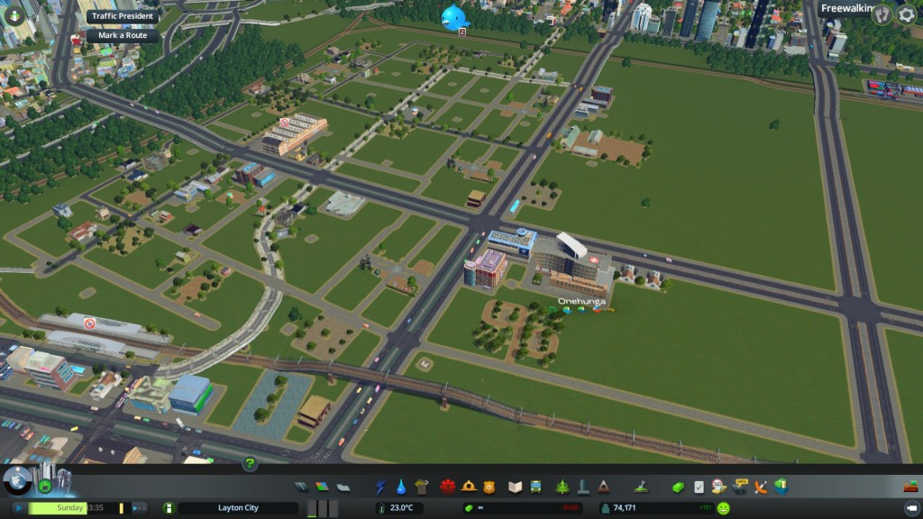 Laying down infrastructure for new housing and other urban development