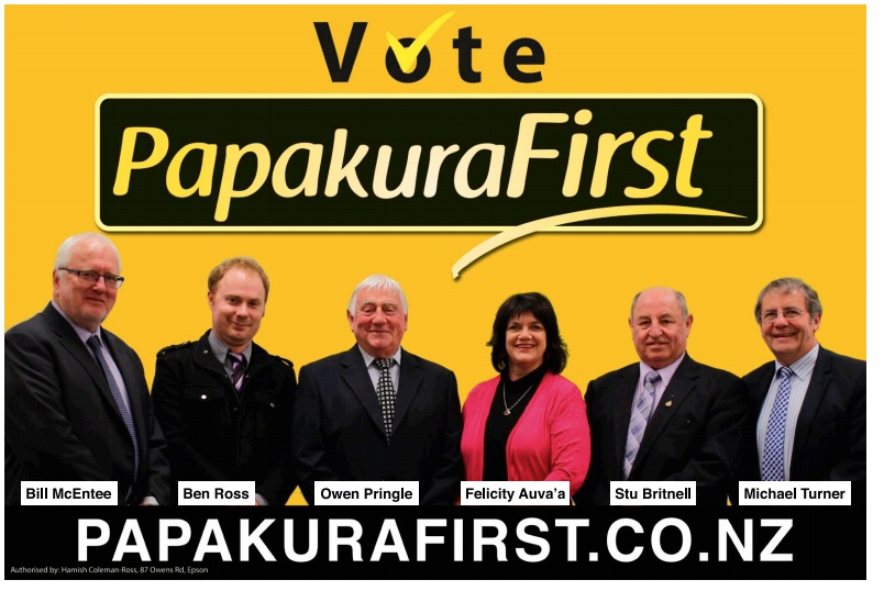 Papakura First in the Local Elections 2016