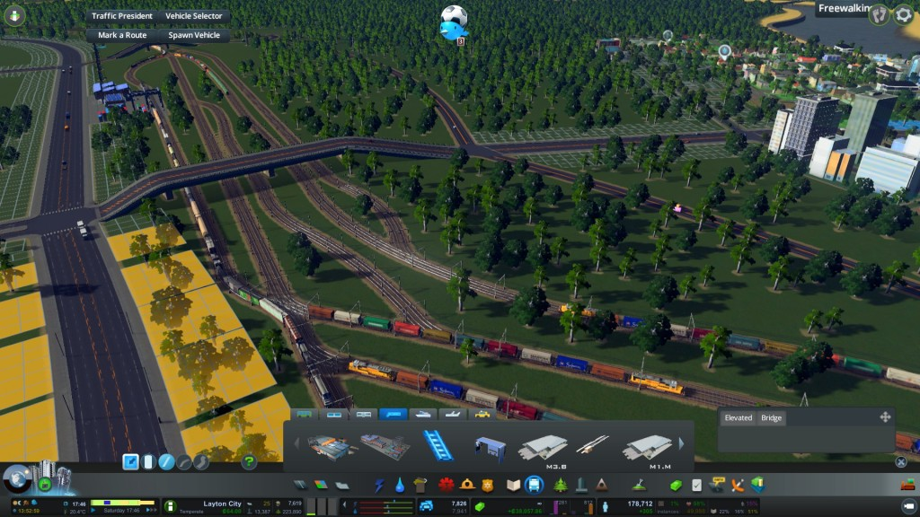 Freight Rail congestion