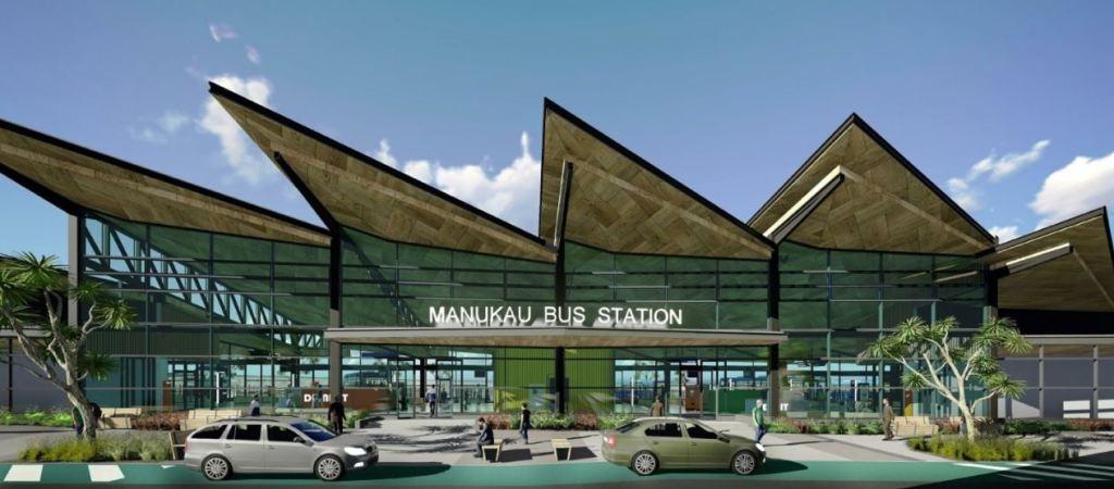 Manukau Bus Station render Source: Auckland Transport