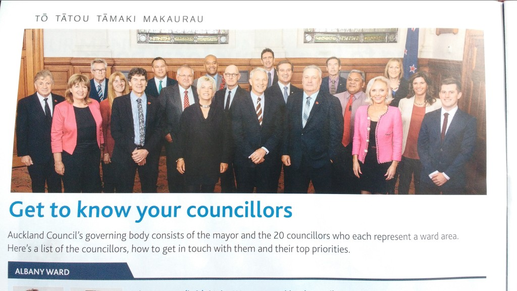 Governing Body of Auckland Council 2016-2019
