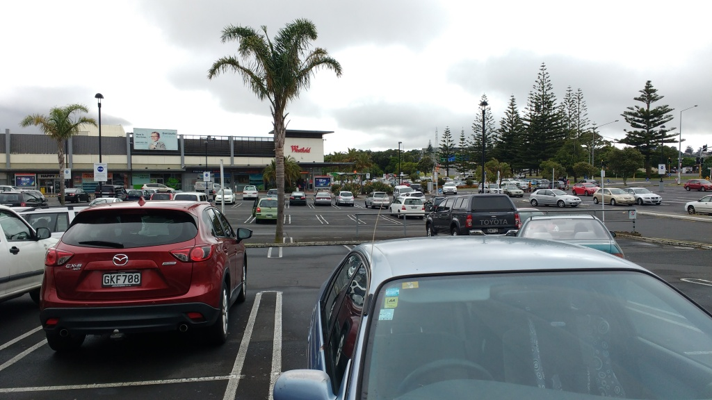 Manukau Mall south car park