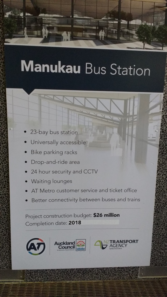 Manukau Bus Station delays