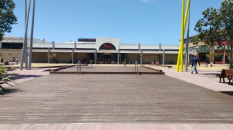 Manukau Court looking towards the mall
