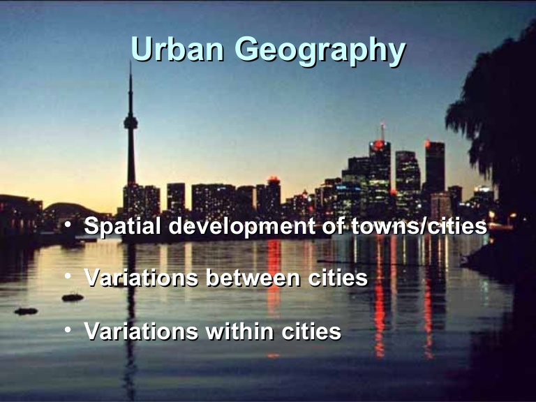 urban-geography