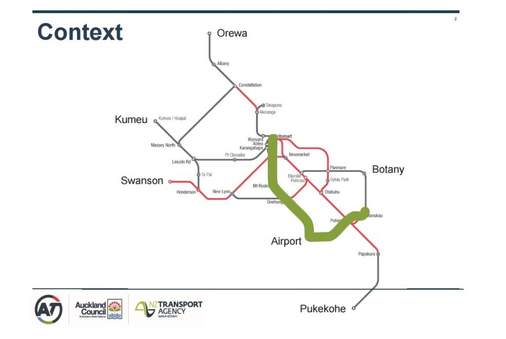 Light Rail to Airport and Manukau
