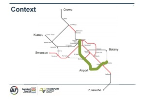 Light Rail to Airport and Manukau Source: Auckland Transport and NZTA
