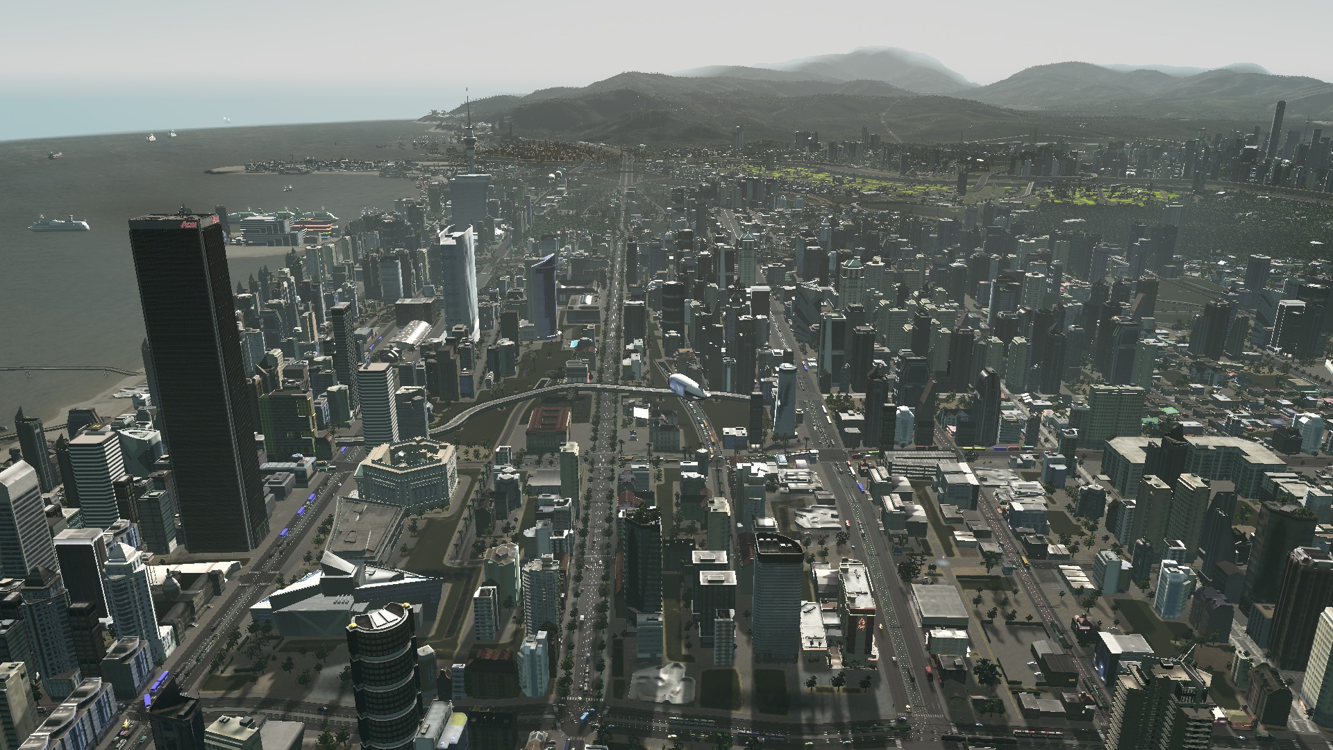 ALL ABOARD. Light Rail Moving You Around. #CitiesSkylines Lessons for Auckland