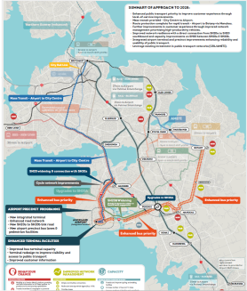 Airport Access Study 2028 Source: Auckland Airport Access by Auckland Airport, NZTA and Auckland Transport