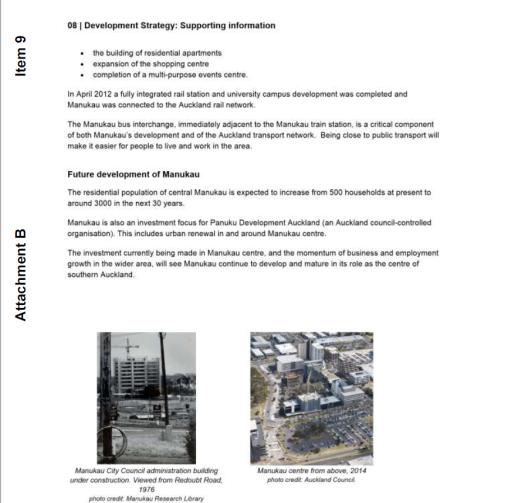 Manukau as a node under the Auckland Plan Refresh Source: Auckland Council