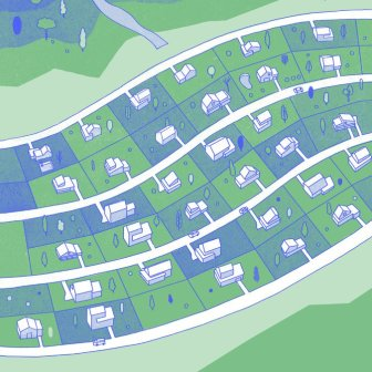 Green utility grid Source: NYT - https://www.nytimes.com/2017/09/15/sunday-review/future-suburb-millennials.html?lipi=urn%3Ali%3Apage%3Ad_flagship3_pulse_read%3BvP%2BwHXxoTKWPXOAOY7IKjw%3D%3D#