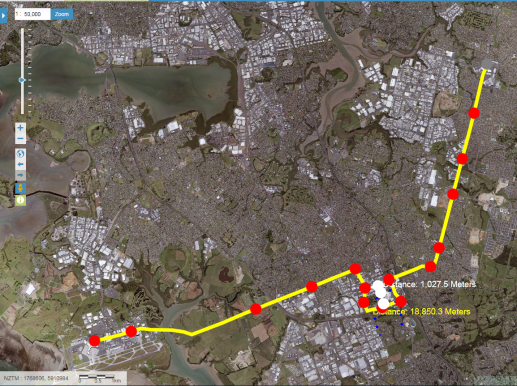 Airport to Botany Rapid Transit suggest route