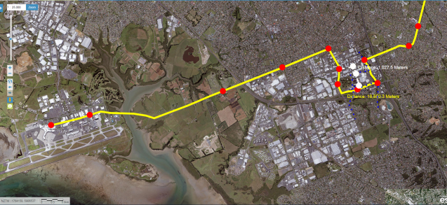 The Southern Airport Line 2018 - Airport to Manukau via Puhinui Station