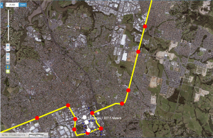The Southern Airport Line 2018 - Manukau to Botany