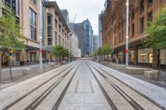 George Street LRT - Sydney Source: Greater Auckland