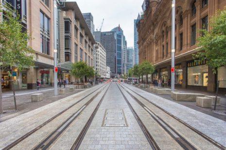 George Street LRT - Sydney Source: Greater Auckland