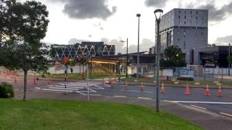 Manukau Bus Station looking from Manukau Civic Building
