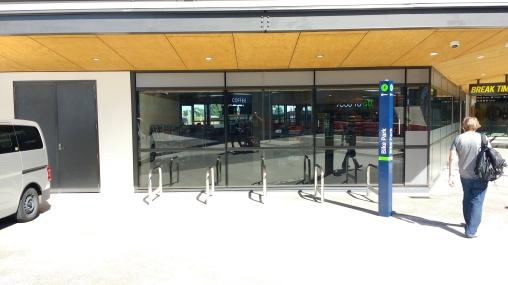Manukau Bus Station Bike Parking