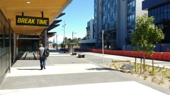 Manukau Bus Station looking towards M Central