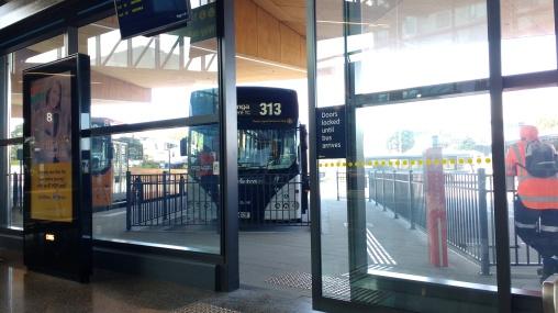 313 at the Manukau Bus Station