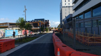 Putney Way under construction