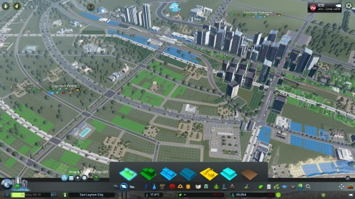 Urban Geography, Urban Planning, Urban Design and Engineering - all in action in Cities Skylines