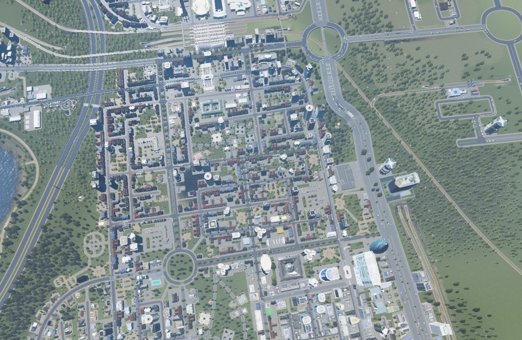 One Last Look at a #CitiesSkylines City  Also Real Time Mod