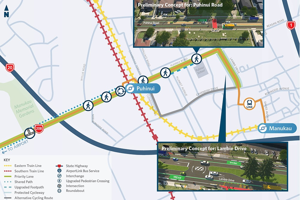 Airport to Botany Rapid Transit Stage 1 Construction Starts. Bus Lane Extension Wins